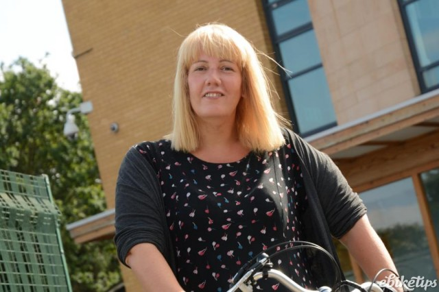 Sarah Riley, Community Development Coordinator at Great Places Housing Group (image courtesy of Transport for Greater Manchester)