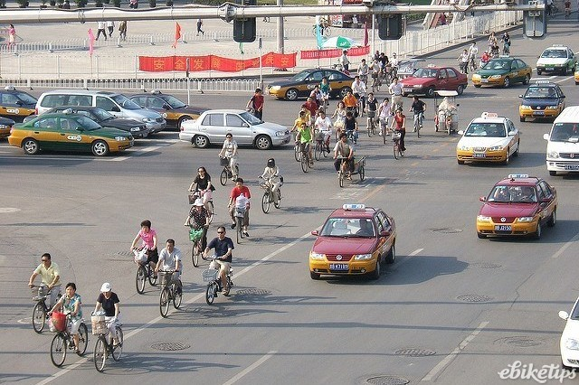 Beijing bicycles -image via Flickr user Satbir Singh.jpg