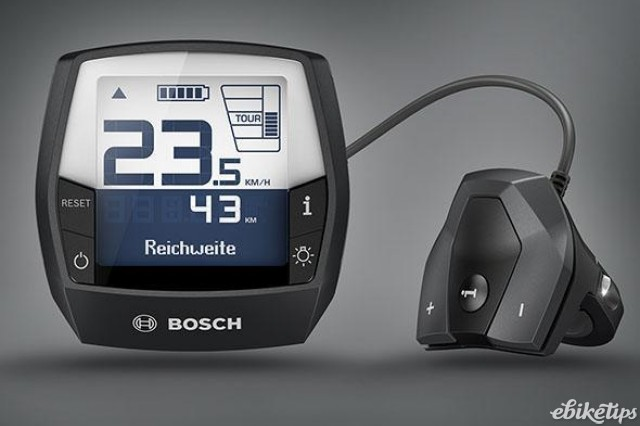 Bosch Intuvia display and remote