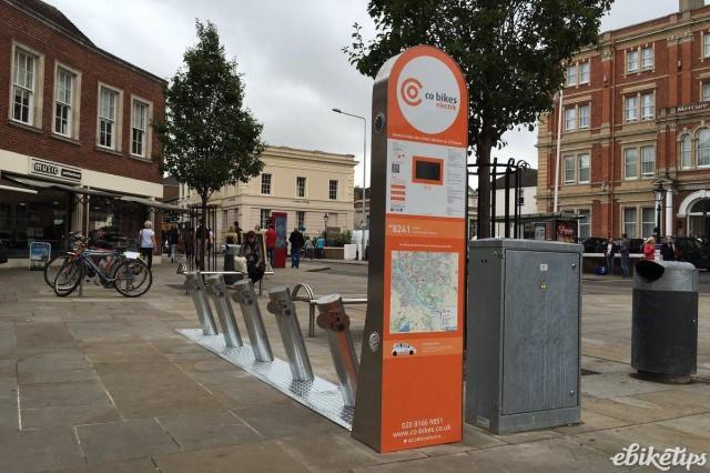 Co-bikes - electric bike hire Exeter (image via co-bikes Twitter).jpg