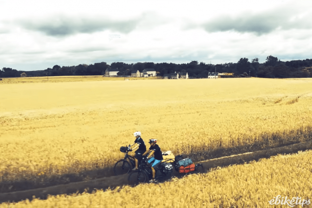 Corbetts ride through corn field - image via The Cycle Tourists.PNG