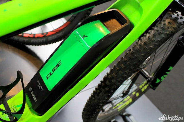 Cycle Show e-bike roundup - Cube Reaction SLT - battery.jpg