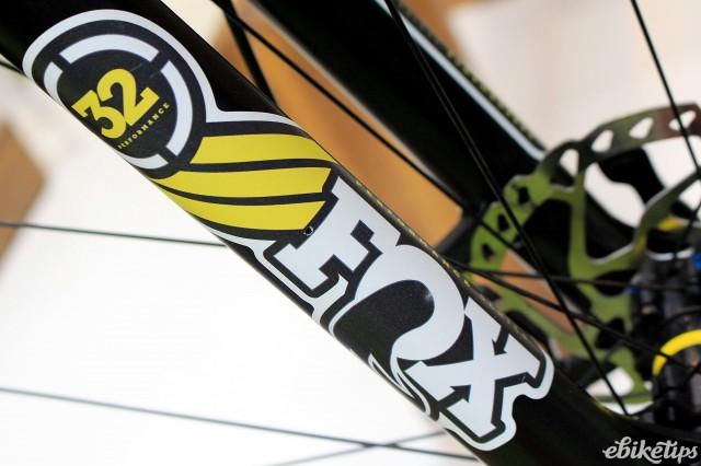 Cycle Show e-bike roundup - Radon ZR Race Hybrid - fork.jpg
