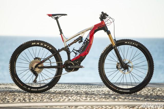 Ducati's new MIG-RR e-MTB