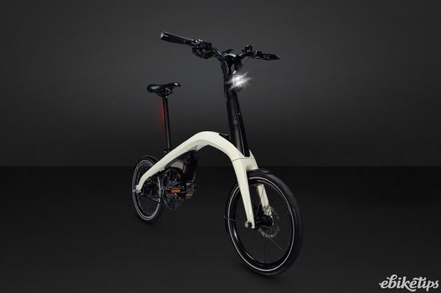 A General Motors e-bike ready for branding