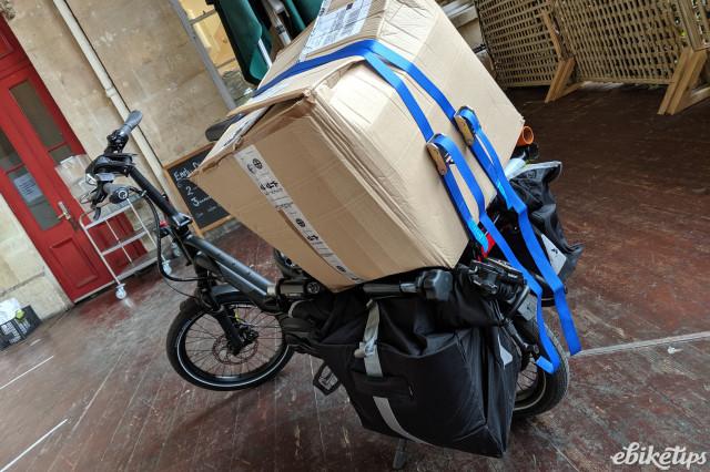 Tern HSD - luggage capacity