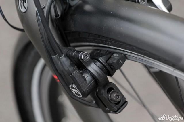 Koga E-Nova RT Electric Bike - front brake.jpg