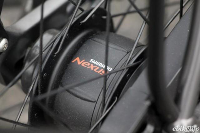 Koga E-Nova RT Electric Bike - rear hub.jpg