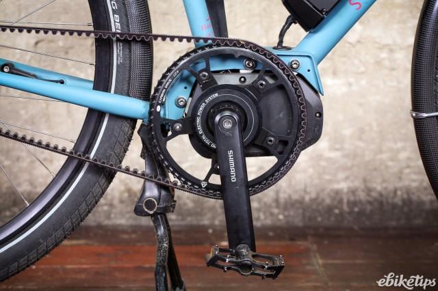 Sven Cycles The Swift Step Through e-bike - crank.jpg