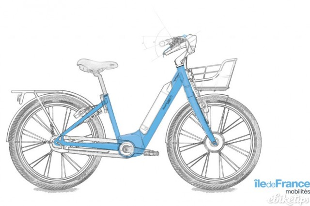A render of what the Veligo e-bikes should look like