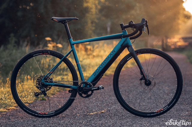 Boardman launch their first e-bike range, selling exclusively at