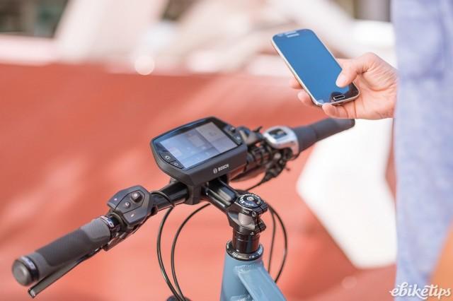 Bosch ebike + smartphone