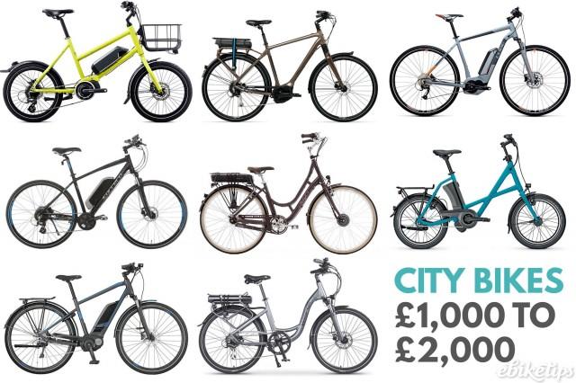 City Bikes £1k to £2k