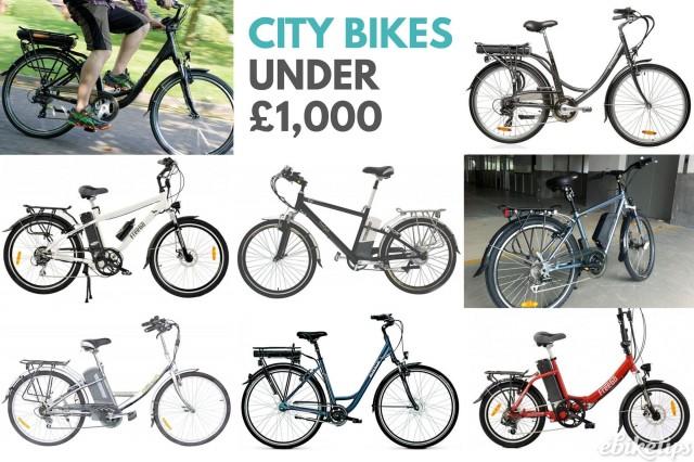 Ciy bikes sub £1k