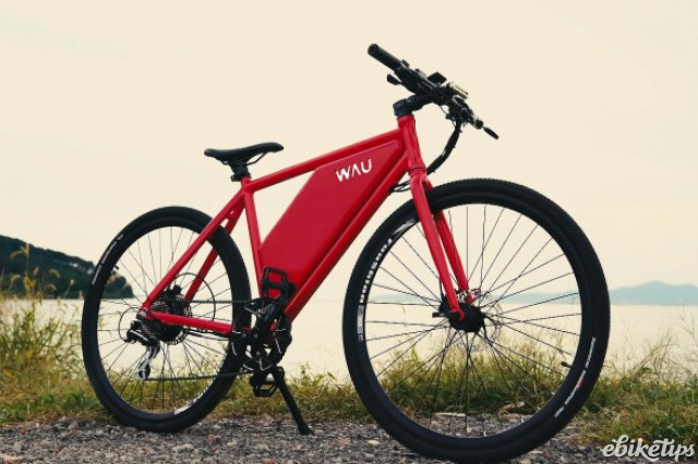 WAU's e-bike is available in three versions