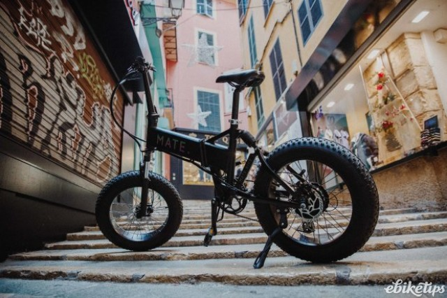 The crowdfunded Mate Bikes MATE X e-bike