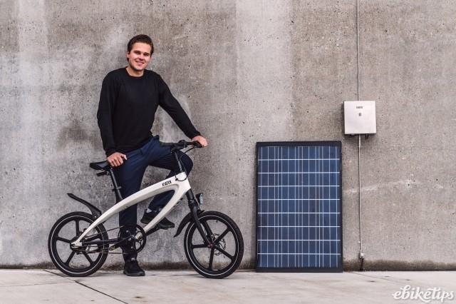 KVAERN solar charging