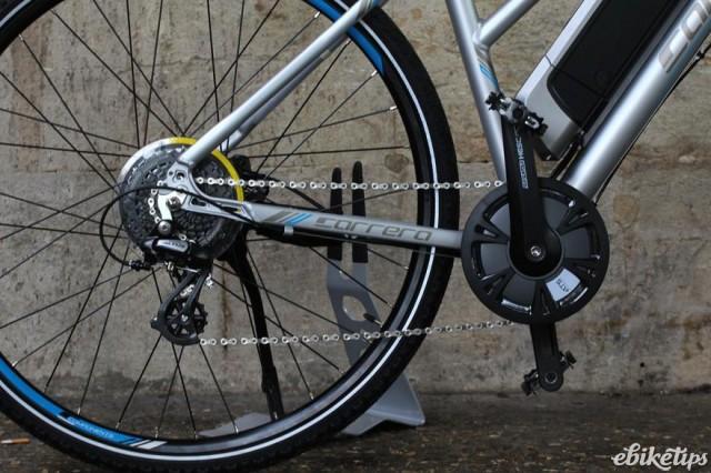 Carrera electric bike review: Carrera Crossfire E Women
