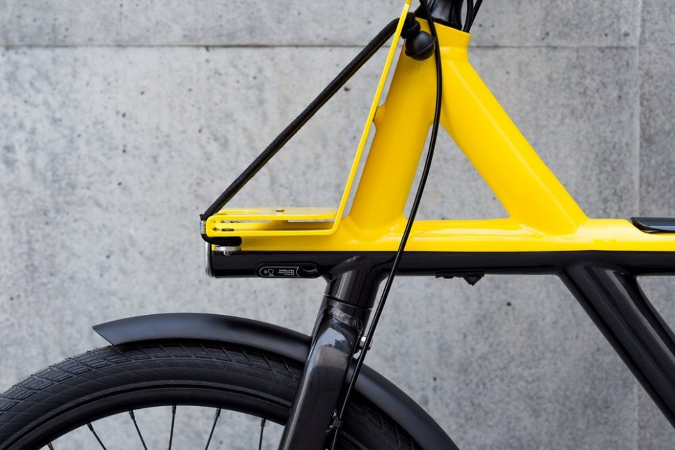 VanMoof Electrified X front rack