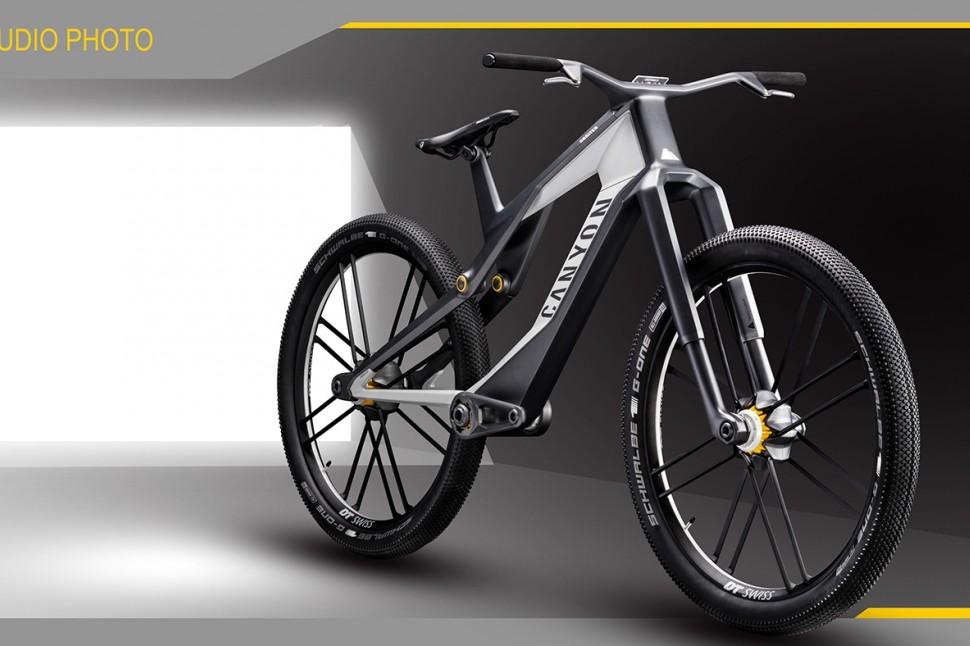 Canyon Orbiter - full bike 3/4 2