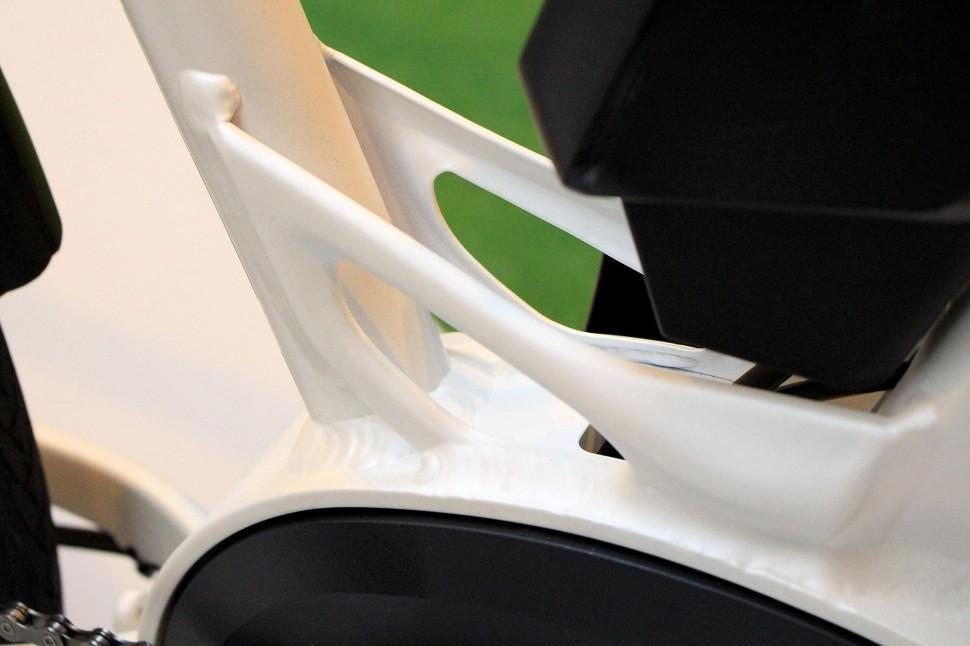 Cycle Show e-bike roundup - BMW Cruise - frame detail.jpg