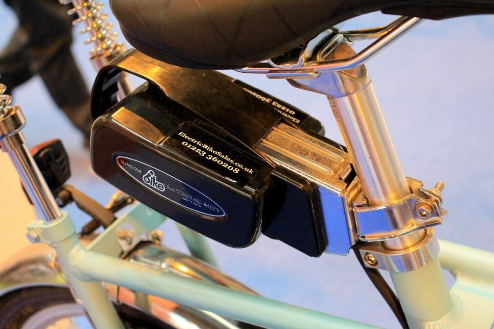 Cycle Show e-bike roundup - e-Chopper - battery.jpg