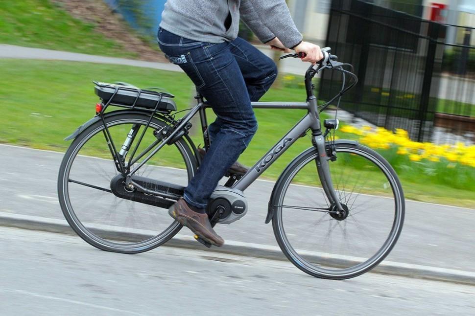 Koga E-Nova RT Electric Bike - riding 2.jpg
