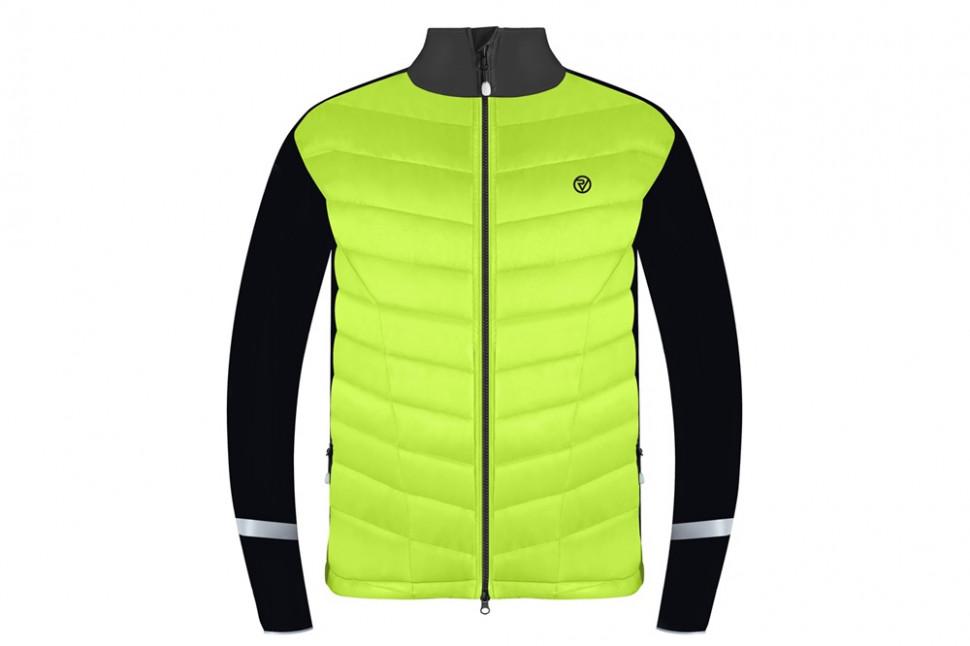 Mens e-bike jacket front yellow.jpg