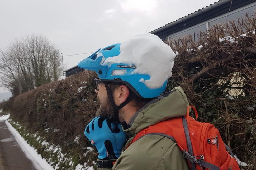 e-MTB snow day 4