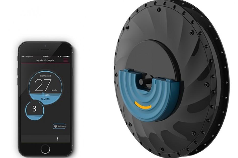 UrbanX wheel - app